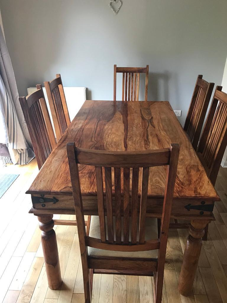 Dining Room Table Amp 6 Chairs John Lewis Maharani In