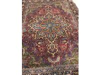 Persian Rug Hand Made Vintage Authentic Heriz (£1000 OFF)