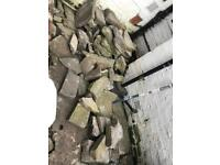 Reclaimed Stone Paving Slabs - Rockery / Crazy Paving