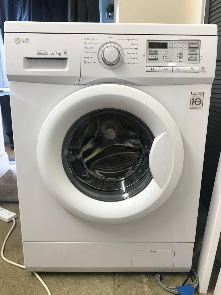 Lg Inverter Direct Drive 7kg Washing Machine In Leytonstone London Gumtree