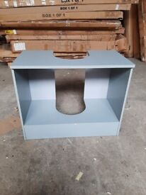 Wide Underbasin Storage Unit - Grey