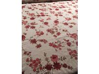 Lovely floral fine cotton print - 6m - dress/ curtain fabric -