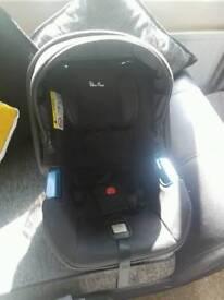 Silver Cross car seat