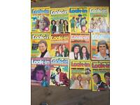Look in magazines 1970s with poster inserts x 24 job lot
