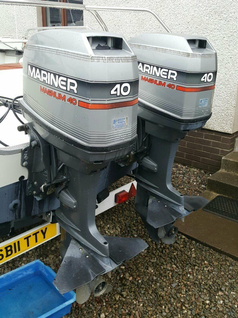 Mariner Magnum 40 HP Outboard