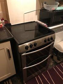Belling twin oven cooker halligen top