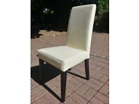6 almost new John Lewis Dining Chairs in excellent condition