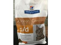 1.5kg bag of Hills Urinary Care Dry cat food