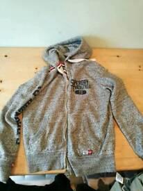 Superdry zipped hoodie