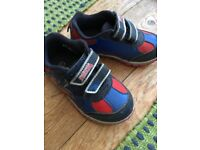 Spiderman trainers size 7