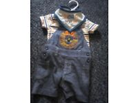 Baby boy 0-3 months 3 piece outfit new