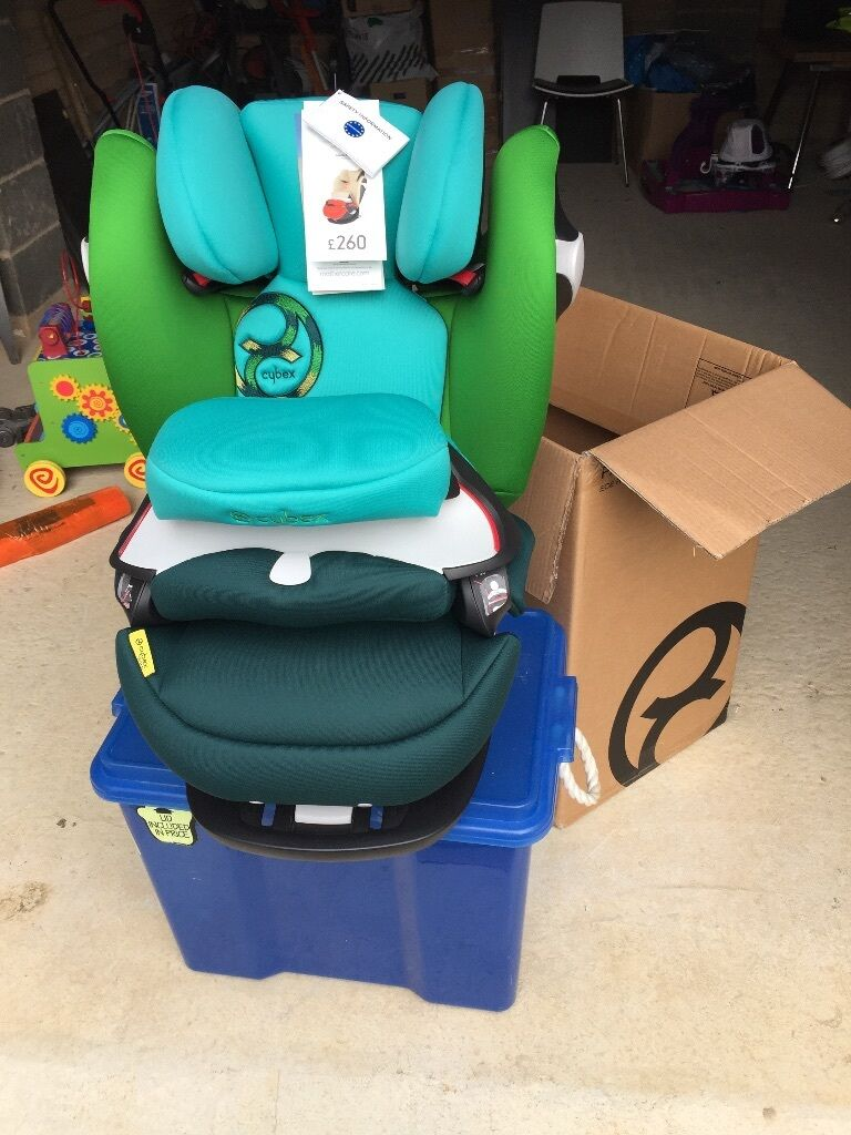 cybex pallas m fix group 1 2 3 car seat in hawaii green new in wootton bedfordshire gumtree. Black Bedroom Furniture Sets. Home Design Ideas