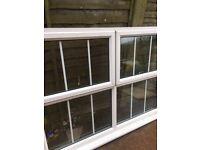 Used UPVC window 1760mm x 1350mm