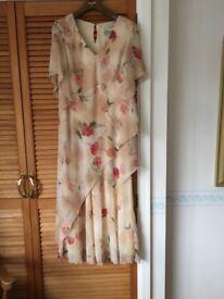 Cattina floral ladies-dress