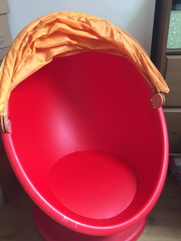Ikea Lomsk Kids Swivel Egg Chair In Poynton Manchester Gumtree