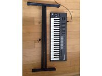 Novation Launchkey 49 and a keyboard stand