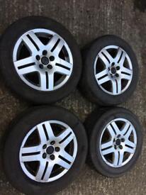 Vw Golf 4 wheels alloys tyres