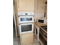Tall larder tower double oven kitchen unit