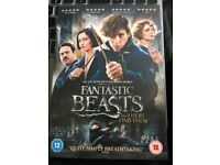 Fantastic Beasts And Where To Find Them DVD Brand New&Sealed with ultraviolet digital download