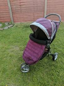 City mini pram by baby jogger