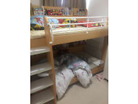 fantastic kids bunk bed, very strong and well made