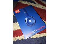 Brand New Unopened Beats Solo Wireless 2 In Rare Blue Colour
