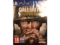 Call of Duty WWII New (Sealed)