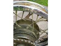 Yamaha pw80 rear wheel