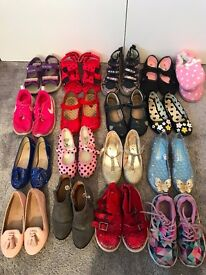 BUNDLES OF GIRLS SHOES - SIZE 10/11 - GREAT CONDITION
