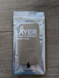 LAYERCASE- World's Thinnest Phone Case IPHONE X Semi Gold Colour UNOPENED