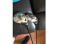 Taylor made sldr 3wood plus hybrid
