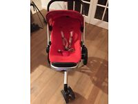 Red Quinny Buzz pushchair