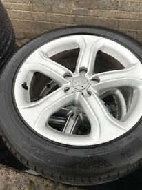 Audi A4 / A5 Technik Alloy wheels and tyres