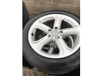 Audi A4 / A5 Technik Alloy wheels and tyres