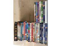 Joblot 25 DVD's plus one wii game BARGAIN
