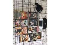 Sony Playstation Portable (PSP) and 8 games