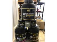 Protein powder £25 for 2.25kg pre workout £15 bulk deals available