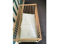 Baby cot from IKEA (reduced price)