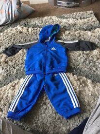 Baby boys 6-9 months Adidas tracksuit