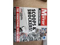Daily Mirror board game - Scoops and Shockers
