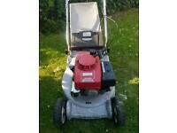 Honda qx hr194 self propelled petrol lawnmower
