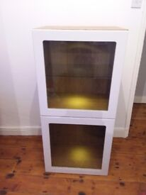 BESTÅ cabinet with glass doors (Ikea)