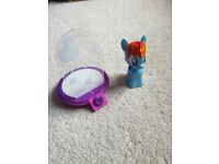 My Little Pony Magic Night Light - Rainbow Dash Kids Torch and Projector by Go Glow, VGC, SPFH