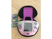 Leapster Leap Frog games console and games for young children