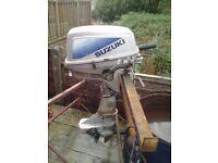 SUZUKI DT8HP SHORT SHAFT OUTBOARD ENGINE
