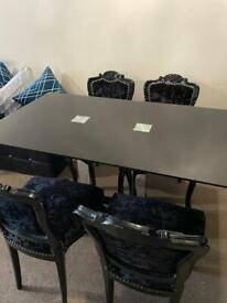 Chairs and table