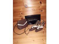 Jacques Vert Handbag and matching shoes