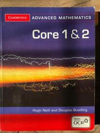 Core 1 and 2 for OCR cambridge Advanced Level Mathematics for OCR)
