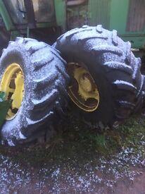 John Deere wheels