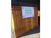 Closeboard fencing panels and posts local delivery available